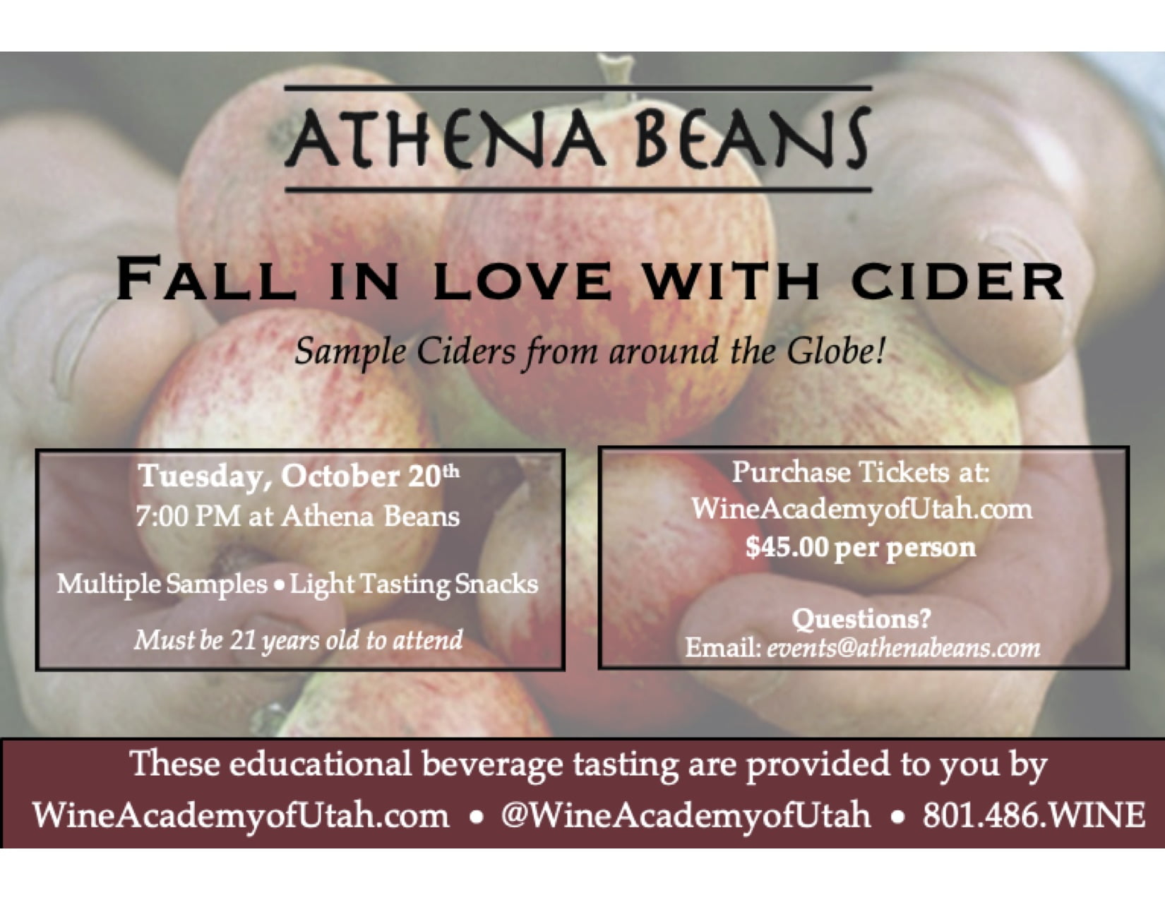 Fall in Love with Cider